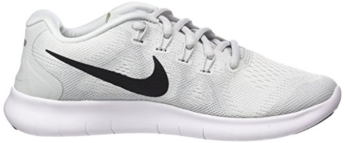 pure Women's White 2017 Shoe Rn Running Free Black Platinum NIKE 8faURR