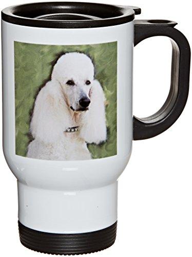 3dRose Standard Poodle Travel 14 Ounce