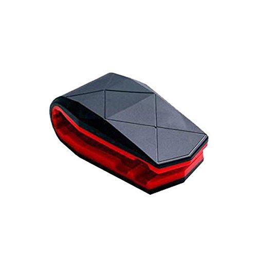 Car Dashboard Mobile Alligator Clip Bracket Desktop Phone Holder Stand Anti-Slip Phone Acces (Black Red)