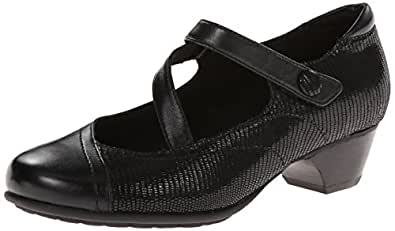 Aravon Women's Portia - AR Dress Pump,Black Multi,6 B US
