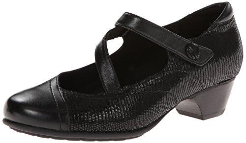 Aravon Women's Portia - AR Dress Pump,Black Multi,7.5 D US