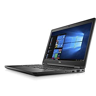 Dell latitude 15 5580 FHD IPS 1080p Quad-Core i7-7820HQ 16GB DDR4 512GB SSD Webcam Windows 10 Pro (Renewed)