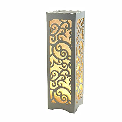 Table Lamp home decoration Wood Rustic Style Living Room Bedroom Decor Lighting Modern Lampshade 3W replacement 40W LED inside