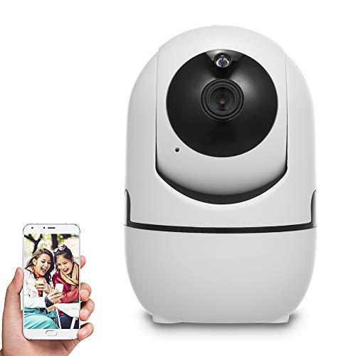 OWSOO WiFi Camera,Security Camera,1080P IP Camera, Indoor Camera,Baby Monitor,Surveillance Camera with Voice Alarm,2-Way Audio,Night Vision,TF Card Cloud Storage for Store Office Pet Elder Monitori