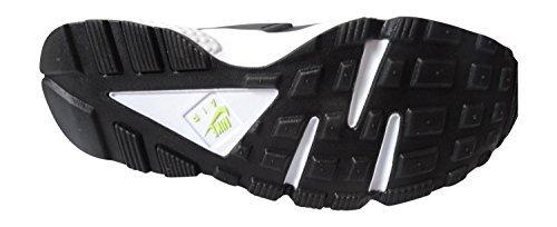 Nike Air Huarache - Zapatillas Mujer Negra/ Menta-volt medio 037