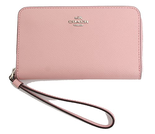 Coach Crossgrain Leather Phone Wallet Wristlet by Coach