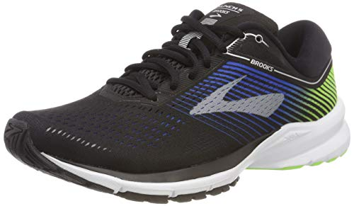 Brooks Mens Launch 5 - Black/Blue/Green - D - 9.0