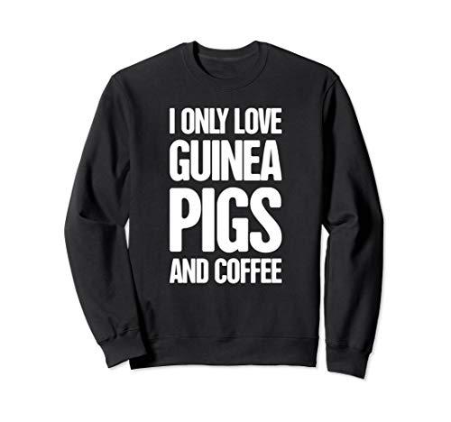 (Coffee - Cute & Funny Guinea Pig Sweatshirt)