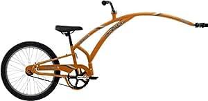 Adams Trail A-Bike Folder 1 Child Trailer: Orange