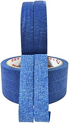 CHINAJIAODAI Cinta Doble Cara 1 rollo 30m cinta azul pintores que ...