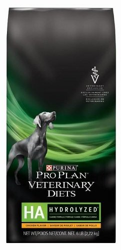 Purina Pro Plan Veterinary Diets HA Hydrolyzed Formula Chicken Flavor Dry Dog Food 25 lb