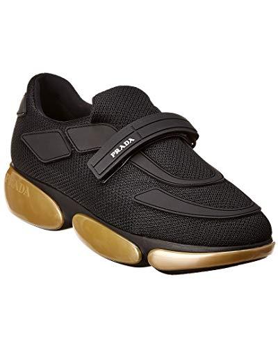 Prada Cloudbust Fabric Sneaker, 38, Black (Women Prada Sneakers)