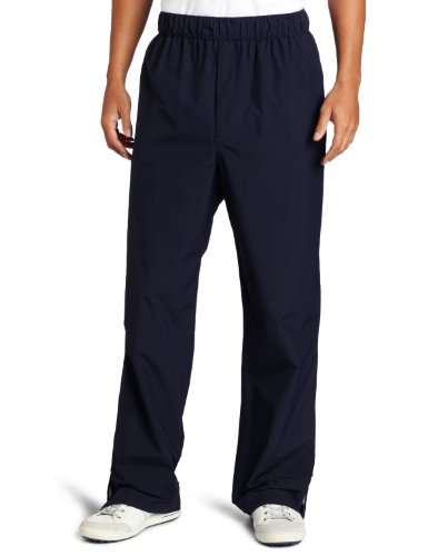 Zero Restriction Mens Packable Pant Packable Rain Pant, Navy, Medium