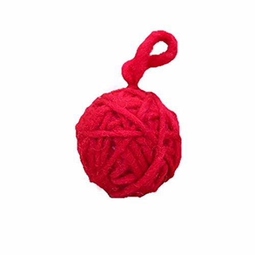 Yarn Ball Wreath - 3