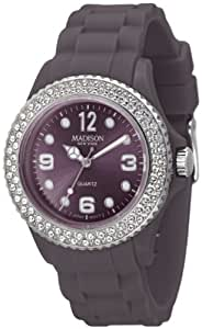Madison New York Casual Watch For Unisex Analog Rubber - U4101N2