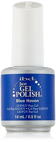 IBD Just Gel Nail Polish, Blue Haven, 0.5 Fluid Ounce by IBD