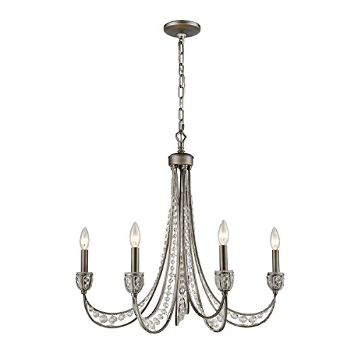 ELK Lighting 16256/5 Chandelier One Size Gray