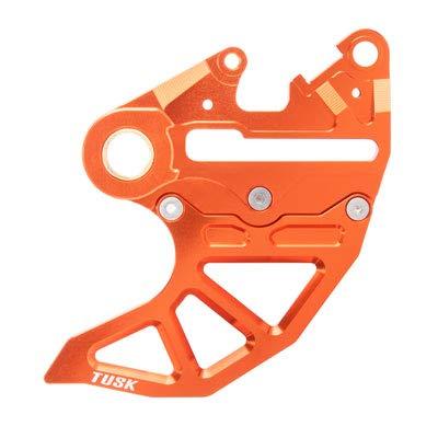 Caliper Guard Rear (Rear Brake Caliper Support w/Brake Disc Guard Orange for KTM 350 EXC-F 2012-2018)