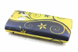 Huawei Ascend Q M660 Hard Case Cover for Royal Swirl
