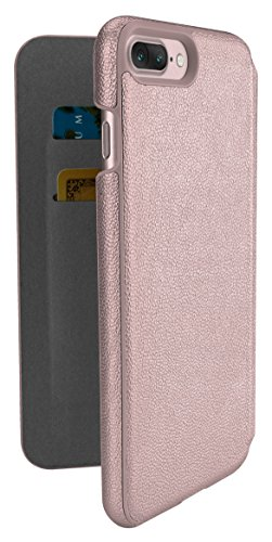 Silk iPhone 7 Plus Wallet Case - Sofi Wallet Case for iPhone 7+ [Lightweight Fashion Grip Card Cover] - Rose Gold by Silk