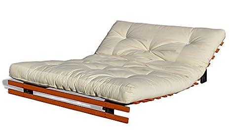 Letto Futon Matrimoniale : Cinius divano letto futon 140x200cm modello toronto: amazon.it: casa