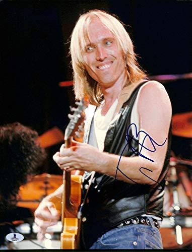 Tom Petty & The Heartbreakers Guitar Autographed Signed Memorabilia 11X14 Photo Beckett Bas