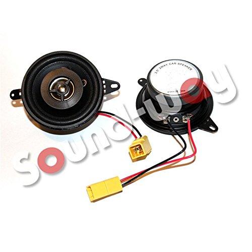 sound-way Enceintes Fiat Punto 1 - Haut-Parleur sur Mesure 8, 7 cm