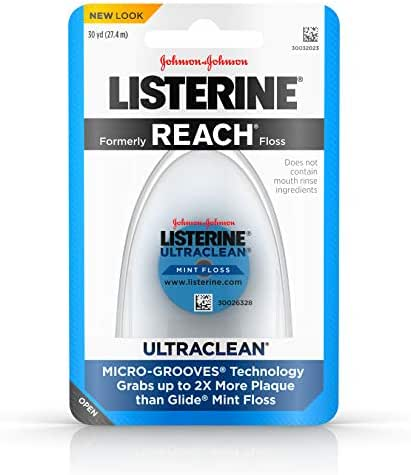 Listerine Ultra Clean Flo Size 30 Yard (Pack of 3)