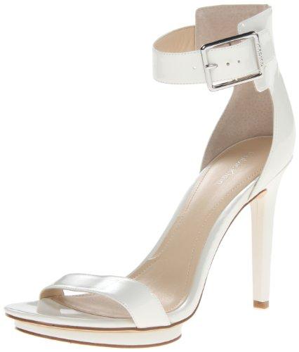 adf88290c068 Calvin Klein Women s Vivian Patent Platform Sandal
