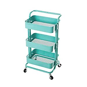 metal storage cart hollyhome 3 tier metal utility service cart 23289