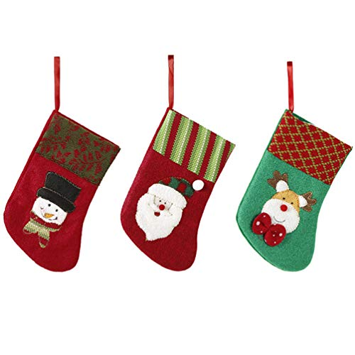 Mini Stocking Needlepoint Christmas (Miss X DIY 3 Pack 7