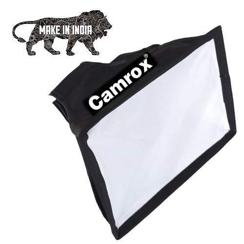 Camrox Flash Soft Box Speedlite Diffuser   Black and White  