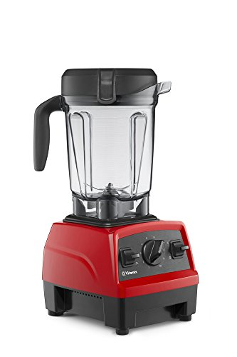Vitamix Explorian Blender, Professional-Grade, 64 oz. Low-Profile Container, Red (Certified Refurbished)