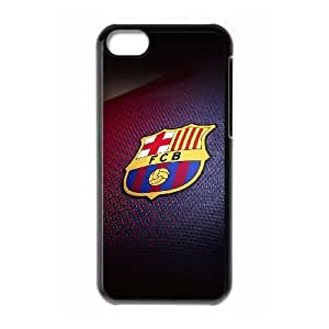 iPhone 5c Cell Phone Case Black Barcelona Logo Emblem Sports Hhgoy
