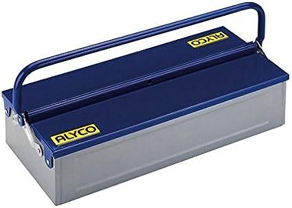Alyco 192733 - Caja de herramientas metalica de 1 bandeja 460 x ...