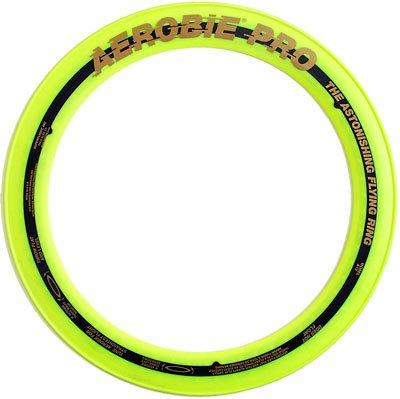 Superflight Aerobie Pro Flying Ring, Yellow Aerobie Flying Ring