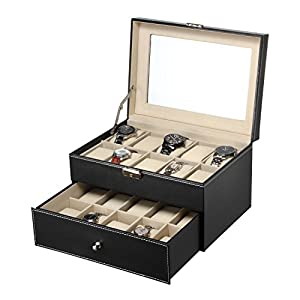 MEGACRA Watch Box 01, Black