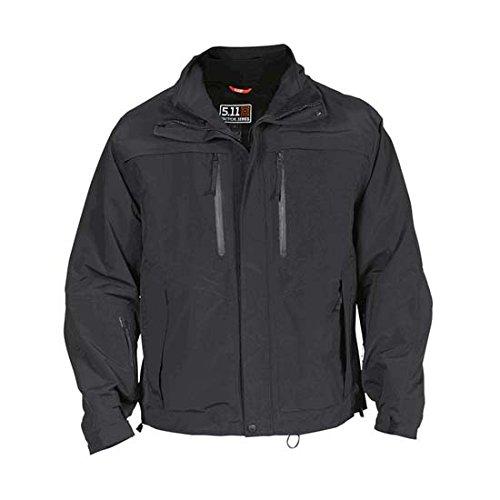 5.11 Men's Valiant Duty Jacket, Black, XX-Large