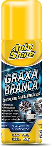 GRAXA BRANCA 300ML AEROSSOL Autoshine, Incolor