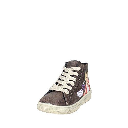 Disney Violetta VIO4013 Hoch Sneakers Mädchen Braun Taupe
