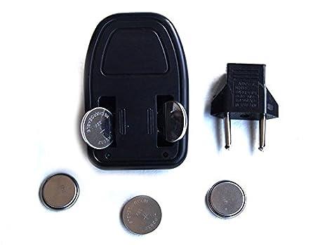 Cargador de 5 pilas de botón CR2450-Pila 7,6 cm, 3,6 V, ión litio ...