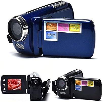 Color : Blue HENGTONGTONGXUN BEESCLOVER Digital Camcorder Handheld Home Digital Video Camera DV Zoom HD 1080P Night Vision Recording Camera r60 Easy to use