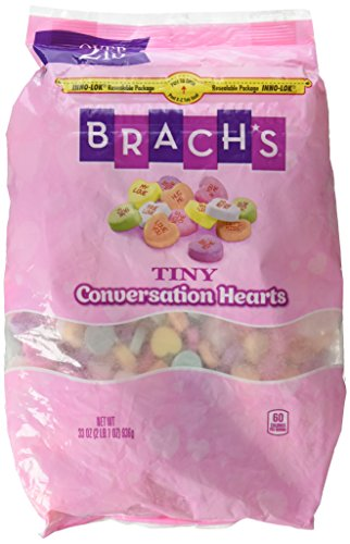 Brach's Tiny Conversation Hearts, Assorted Flavors, 33