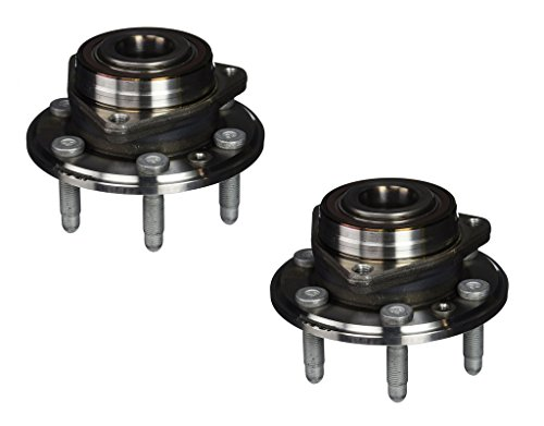 Detroit Axle - Both (2) New Front/Rear Driver & Passenger Side Complete Wheel Hub and Bearing Assembly for 10-16 Cadillac SRX