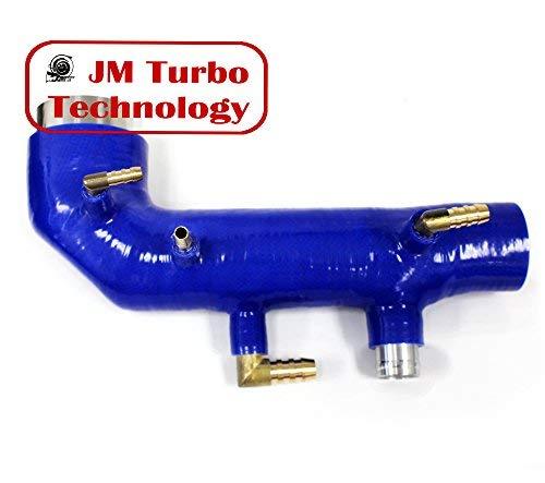 02-04 Subaru Wrx Sti Ej20 Ej25 Turbo Intake Inlet Silicone Blue New