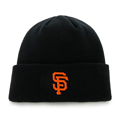 (MLB San Francisco Giants '47 Raised Cuff Knit Hat, Black, One Size)