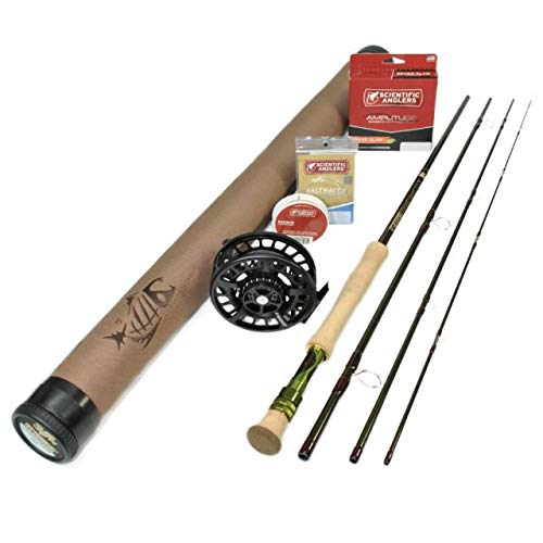 G. Loomis CrossCurrent GLX FR10812-4 Saltwater Fly Rod Outfit : 12wt 9'0