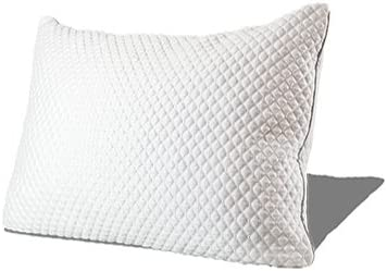 King CertiPUR-US Premium Memory Foam Fill 100 Night Trial Internets Most Comfortable Pillow Adjustable Loft Hypoallergenic 5Yr Warranty Neck /& Back Pain Relief PureComfort