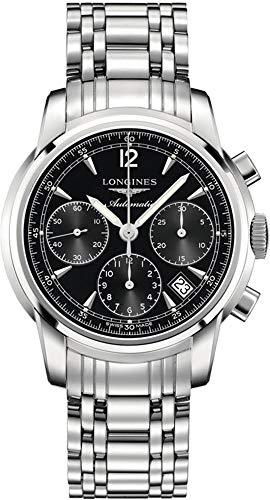 Longines Saint-Imier Black Dial Men's Watch L2.752.4.52.6