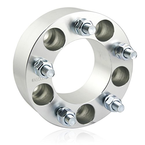Orion Motor Tech 4pcs 2'' Wheel Spacers 5x4.75 | 12x1.5 Studs for Chevy Corvette Camaro S10 S15 GMC Jimmy Sonoma Typhoon & Cadillac Oldsmobile Pontiac by OrionMotorTech (Image #3)